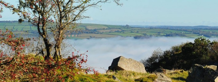 Mist from Kit Hill
